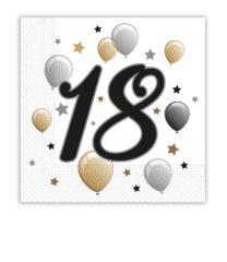 Milestone - Two-ply Paper Napkins 33x33 cm Age 18 - 88864