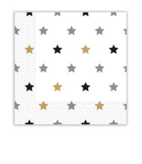 Milestone -  Two-ply Paper Napkins Stars 33x33 cm - 88876
