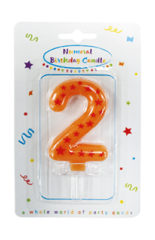 Numeral Candles - Stars Numeral Candles No. 2 - 89165