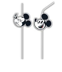 Playful Mickey - Medallion Flexi Drinking Straws - 89212