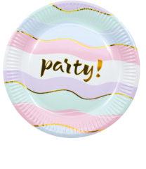 Elegant Party - Paper Plates 23 cm - 89260