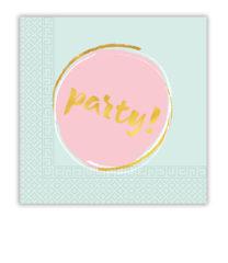 Elegant Party - Two-ply Paper Napkins 33x33 cm - 89262