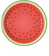 Watermelon - Paper Plates 23 cm - 89406