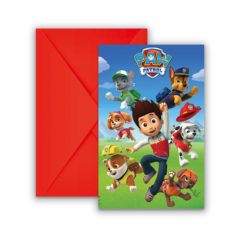 Paw Patrol Ready for Action - Invitations & Envelopes - 89441