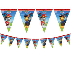Paw Patrol Ready for Action - Triangle Flag Banner (9 Flags) - 89443