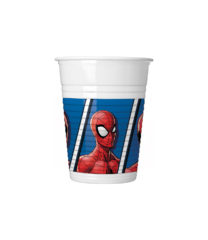 Spider-Man Team Up - Plastic Cups 200 ml. - 93554