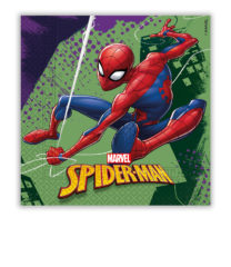 Spider-Man Team Up - Two-Ply Paper Napkins 33x33cm - 89448