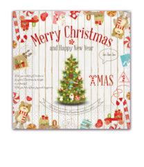 Seasonal Napkin Designs - Christmas Wishes Three-Ply Napkins 33x33 cm - 89489