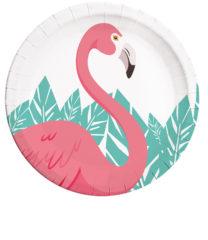 Flamingo - Paper Plates Large 23 cm - 89592