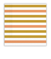 Gold, Rose Gold & Copper - Two-ply Paper Napkins 33x33 cm - 89706