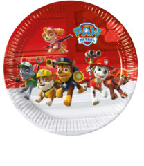 Paw Patrol Ready for Action - Paper Plates Large 23cm - 89774