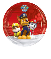 Paw Patrol Ready for Action - Paper Plates Medium 20cm - 89775