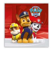 Paw Patrol Ready for Action - Two-Ply Paper Napkins 33x33 cm - 89777