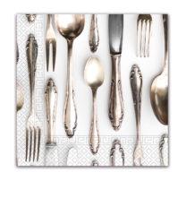 Everyday Napkin Designs - Cutlery Three-Ply Napkins 33x33cm - 89784