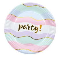 Elegant Party - Paper Plates 20 cm - 89968