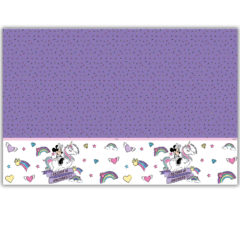 Minnie Unicorn - Plastic Tablecover 120x180cm - 90228