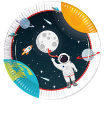 Outer Space - Paper Plates 23 cm - 90295