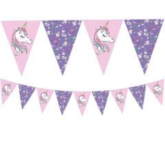 Minnie Unicorn - Triangle Flag Banner (9 Flags) - 90331