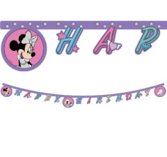 "Minnie Unicorn - ""Happy Birthday"" Die-Cut Banner - 90342"