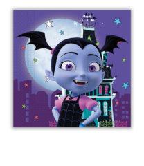 Vampirina - Two-Ply Paper Napkins 33x33 cm - 90371
