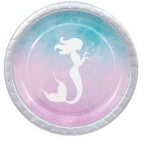 Elegant Mermaid - Paper Plates 23 cm - 90546