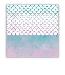 Elegant Mermaid - Two - Ply Paper Napkins 33x33 cm - 90548