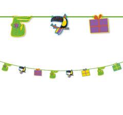 Toucan - Paper Die-Cut Banner - 90559
