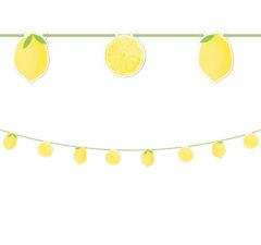 Lemons - Paper Die-Cut Banner - 90944