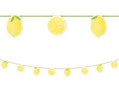 Lemons - Paper Die-Cut Banner - 90573