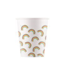 Rainbow Party - Paper Cups 200 ml - 90591