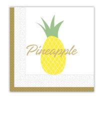 Pineapple Fresh - Two - Ply Paper Napkins 33x33 cm - 90598