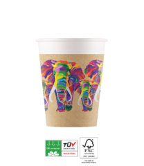 Elephant Compostable - Industrial Compostable Paper Cups 200 ml - 90605