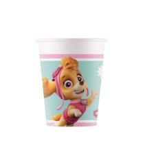 Paw Patrol Skye & Everest - Paper Cups 200 ml - 90653