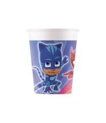 Pj Masks - Paper Cups 200 ml - 90655