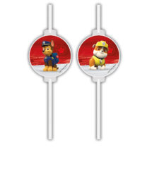 Paw Patrol Ready for Action - Medallion Paper Straws - 90657