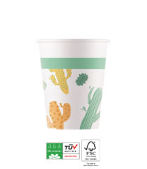 Cacti Compostable - Industrial Compostable Paper Cups 200 ml FSC - 90808