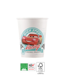 Cars High Speed Compostable - Industrial Compostable Paper Cups 200ml FSC - 90817