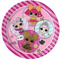 LOL Glitterati - Paper Plates Large 23cm (Metallic) - 90855