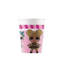 LOL Glitterati - Paper Cups 200ml  - 90858