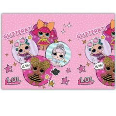 LOL Glitterati - Plastic Tablecover 120x180cm - 90860