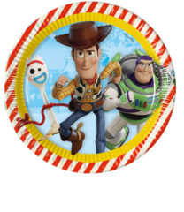 Toy Story 4 - Paper Plates 23 cm - 90870