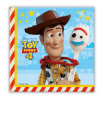 Toy Story 4 - Two-Ply Paper Napkins 33x33 cm - 90872