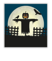 Halloween Scary Moon - Two-Ply Paper Napkins 33x33 cm - 90975