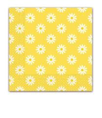 Everyday Napkin Designs - Shinny Daises Three-Ply Paper Napkins 33x33 cm. - 90980