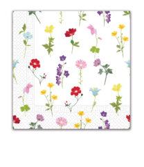 Everyday Napkin Designs - Flowers Field Three-Ply Paper Napkins 33x33 cm. - 90981