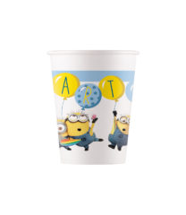 Lovely Minions - Paper Cups 200 ml - 91052