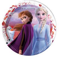 Frozen 2 - Paper Plates 23 cm - 91125