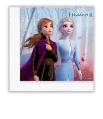 Frozen 2 - Two-Ply Paper Napkins 33x33 cm - 91128