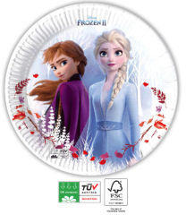 Frozen 2 Destiny Awaits Compostable - Paper Plates 23 cm Industrial Compostable FSC - 91146