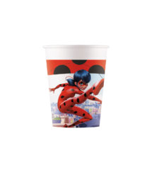 Miraculous Ladybag - Paper Cups 200 ml - 91345